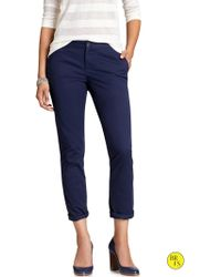 Banana Republic Factory Ryan-fit Slim Ankle Chino - Lyst