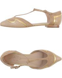 Lola Cruz Ballet Flats - Lyst