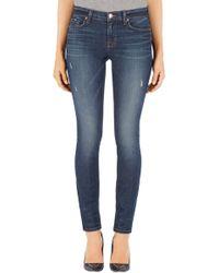 J Brand 811 Mid Rise Skinny Leg Jeans - Lyst