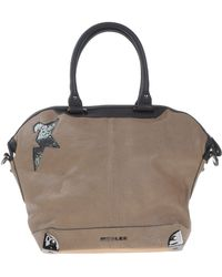 Mugler Handbag khaki - Lyst