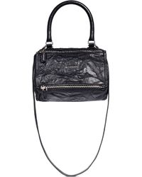 Givenchy | 'pandora' Small Sheepskin Leather Bag | Lyst