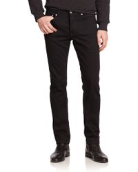 BLK DNM Slim-Fit Jeans black - Lyst