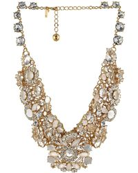 Kate Spade Grande Bouquet Statement Necklace - Lyst