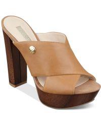 Guess Women'S Patrien Platform Slide Sandals - Lyst