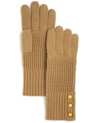 Michael Kors - Waffle Stitch Gloves - Bloomingdale's Exclusive - Lyst