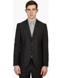 Marc Jacobs | Charcoal Wool Suit Jacket | Lyst