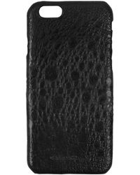 Rick Owens - Cyclops Black Toad Leather Iphone 6 Cover - Lyst