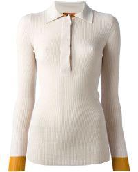 Missoni Button Collar Sweater - Lyst