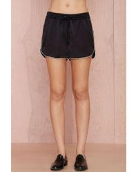 Nasty Gal Finders Keepers Take A Chance Short - Lyst