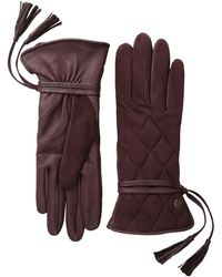 Ugg Ophira Quilted Glove with Tassel - Lyst