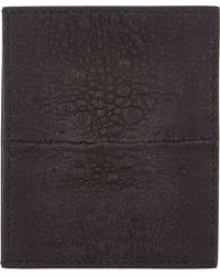 Rick Owens Toad-panel Credit Card Holder - Lyst