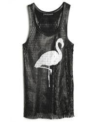 Love Leather - Flamingo Slam Dunk Tank - Lyst