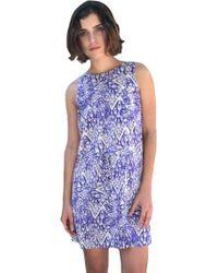 Wren Print Tank Dress - Lyst