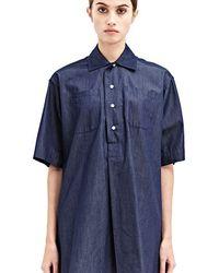 E. Tautz - Whitby Denim Shirt - Lyst