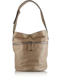 Alexander McQueen Bucket Leather Shoulder Bag - Lyst