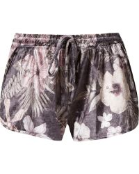 Blue Man - Velvet Floral Boxer Shorts - Lyst