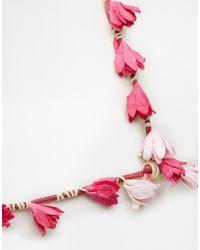 Asos Mini Paper Flower Hair Crown - Lyst