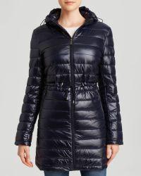DKNY Coat - Cassidy Hooded - Lyst