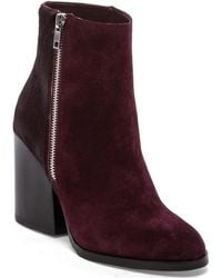 Steve Madden Studio Bootie with Cow Hair - Lyst