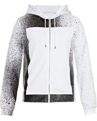Balenciaga Spray Paint-print Hooded Sweatshirt - Lyst
