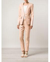 Philosophy di Alberta Ferretti Side Jersey Stripe Trousers - Lyst