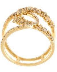 Kristin Hanson - Diamond Loop Ring - Lyst