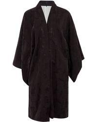 Day Birger et Mikkelsen - Black Osaka Cotton-blend Jacquard Kimono Jacket - Lyst