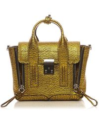 3.1 Phillip Lim | Metallic Pashli Mini Satchel | Lyst