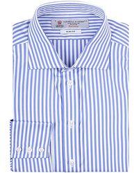 Turnbull & Asser Bengal Stripe Shirt - Lyst