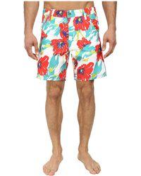 Diesel Kroobeach Shorts Aahk floral - Lyst