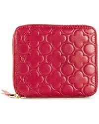 Comme Des Garçons 'Colour Embossed B' Zip-Around Wallet - Lyst