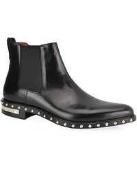 Givenchy Stud Trim Chelsea Boot - Lyst