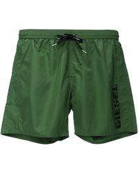 Diesel Green Swimsuit 00s9fvbmbxmarkred - Lyst