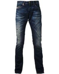 Diesel Thavar Sweat Jeans - Lyst