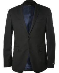 Paul Smith Black Kensington Wool Suit Jacket - Lyst