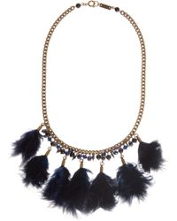 Etoile Isabel Marant Feather Necklace - Lyst
