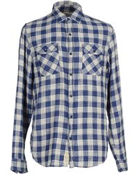 Denim & Supply Ralph Lauren - Denim & Supply Ralph Lauren Oxford Shirt In Custom Regular Fit With Blue Check - Lyst
