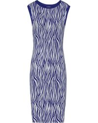 Reiss Feist Printed Bodycon Dress - Lyst