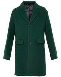 Burberry Prorsum Cashmere and Wool Tailored Coat - Lyst