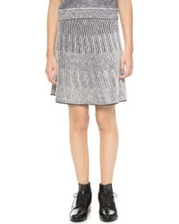 O'2nd - 1 By Chris Skirt - Navy - Lyst