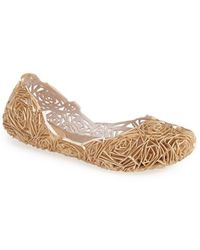 Melissa 'Campana Fitas' Jelly Flat - Lyst