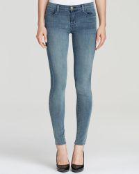 J Brand Jeans - 620 Close Cut Mid Rise Super Skinny in Mystical - Lyst