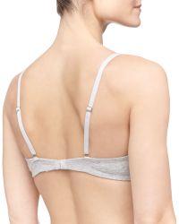 La Perla Clara Cotton Triangle Soft Bra - Lyst