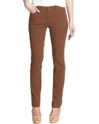 Lafayette 148 New York Printed Skinny Jeans - Lyst
