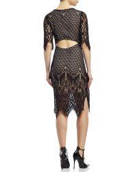 Sans Souci - Lace Midi Dress - Lyst
