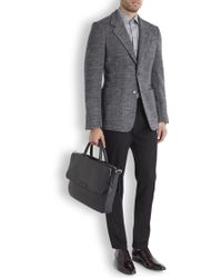 Marc By Marc Jacobs - Robbie Black Leather Briefcase - Lyst