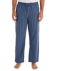 Calvin Klein Blue Stripe Pyjama Pant - Lyst
