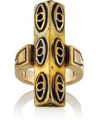 Pamela Love Six Eye Pale Gold-tone Ring - Lyst