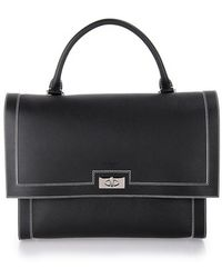 Givenchy Black Medium 'Shark' Tote Bag