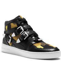 Michael Kors Robin Camouflage High-Top Sneaker - Lyst